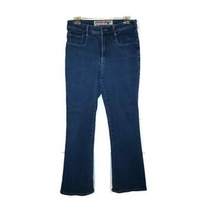 Parasuco Dark Wash High Rise Boot Cut Jeans Sz 31